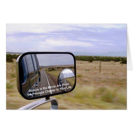 Tarjeta newartsweb - objetos en el espejo .....