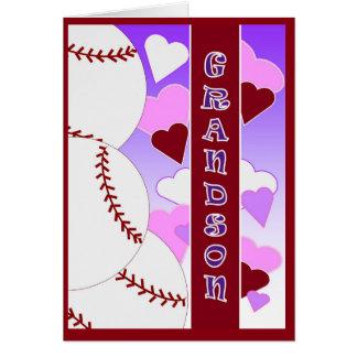 Tarjeta Nieto - te amo más que béisbol del amor de U