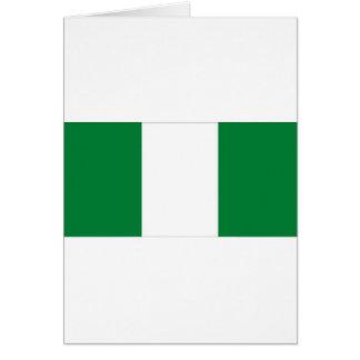 TARJETA NIGERIA