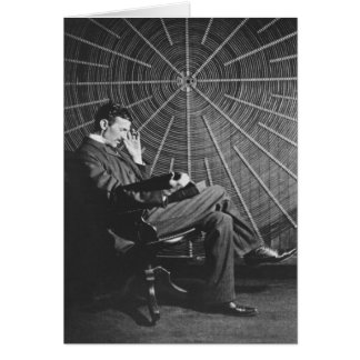 Tarjeta Nikola Tesla, 1896