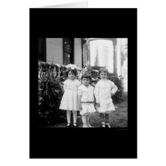 Tarjeta Niños en domingo mejor Dayton, OH 1898
