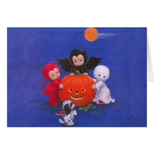 Tarjeta Noche de Halloween