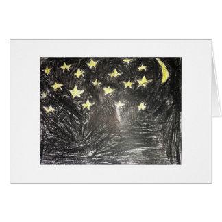 Tarjeta Noche de la estrella E