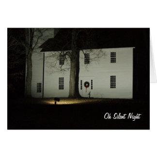Tarjeta Noche silenciosa