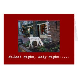 Tarjeta Noche silenciosa, noche santa