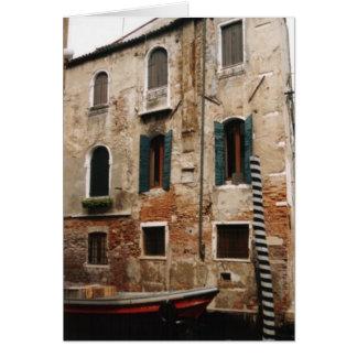Tarjeta Notecard v2 de Venecia