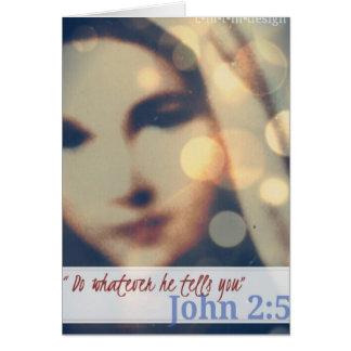Tarjeta Notecards bendecidos de la madre