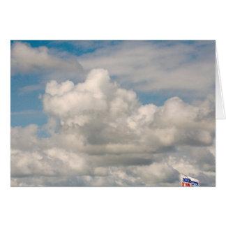 Tarjeta Nubes sobre el lago Erie