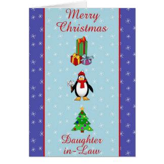 Tarjeta Nuera de Navidad