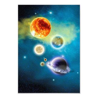 Tarjeta Nueva Sistema Solar