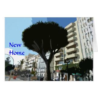 Tarjeta Nuevo hogar - apartamento/planos)
