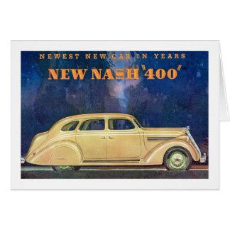 "Tarjeta Nuevo Nash ""400"""