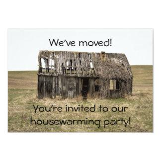 Tarjeta Nuevos hogar del estreno de una casa/invitación