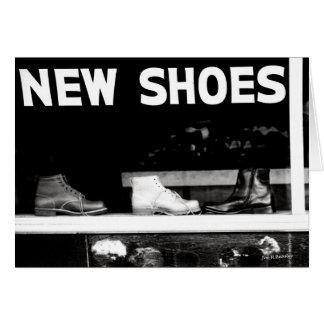Tarjeta Nuevos zapatos