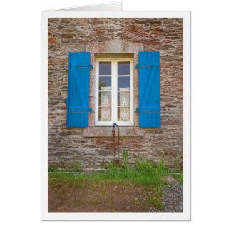 Tarjeta Obturadores azules