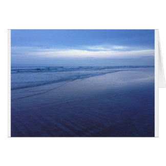 Tarjeta Océano azul hermoso