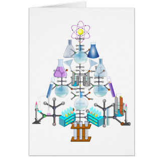 Tarjeta Oh química, oh árbol del químico
