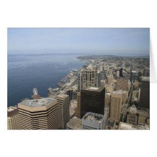 Tarjeta Opinión de Arial de Seattle