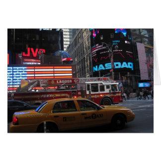 Tarjeta Opinión de la calle del Times Square