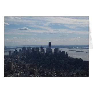 Tarjeta Opinión de la ciudad de NYC del Empire State