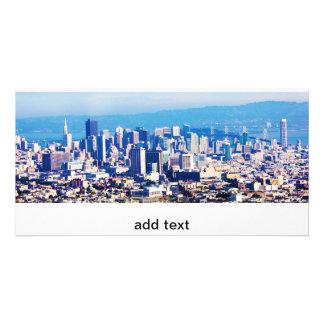 Tarjeta Opinión de la ciudad de San Francisco panorámica