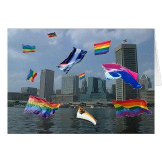 Tarjeta Orgullo de Baltimore