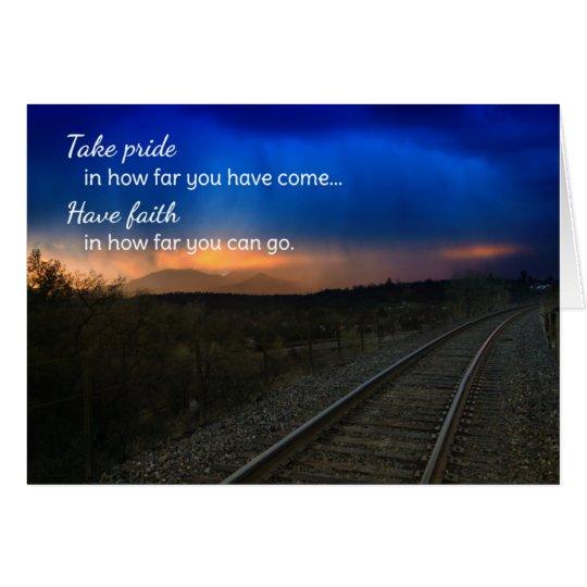 Tarjeta Orgullo de la toma en hasta dónde… de motivación