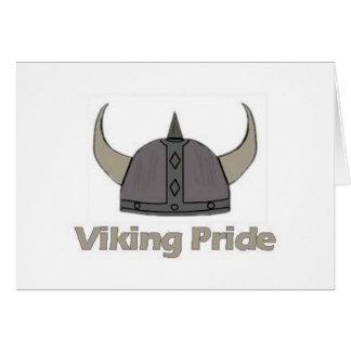 Tarjeta Orgullo de Viking