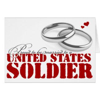 Tarjeta Orgulloso estar casado