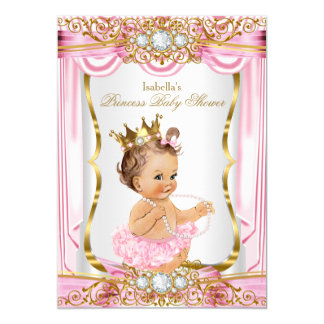 Tarjeta Oro trigueno de la seda del rosa de la princesa