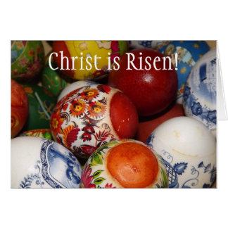 Tarjeta ortodoxa de Pascua/de Pascha
