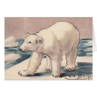 Tarjeta Oso polar