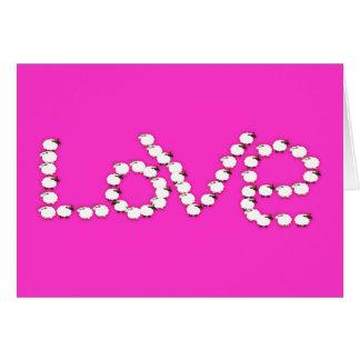 Tarjeta Ovejas: Amor