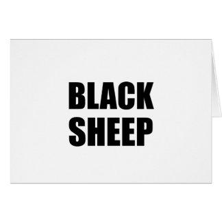 Tarjeta Ovejas negras