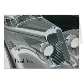 Tarjeta Packard le agradece