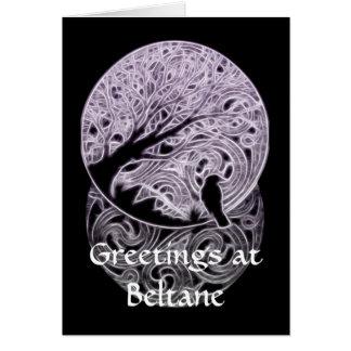 Tarjeta Pagan adaptable/tarjeta temática céltica