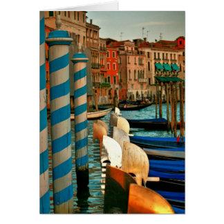 Tarjeta Paisaje veneciano clásico