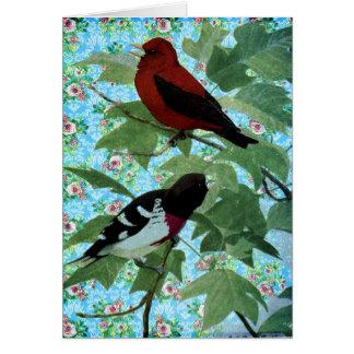 Tarjeta Pájaros bonitos del día