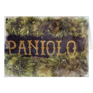 Tarjeta Paniolo con los leus