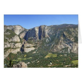 Tarjeta Panorama 3 del valle de Yosemite - Yosemite