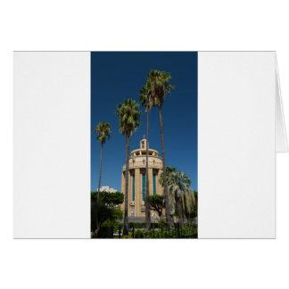Tarjeta Panteón, Syracuse, Sicilia, Italia