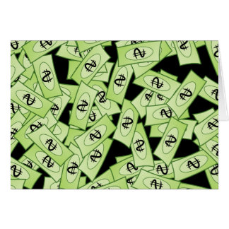 Tarjeta Papel pintado del dólar