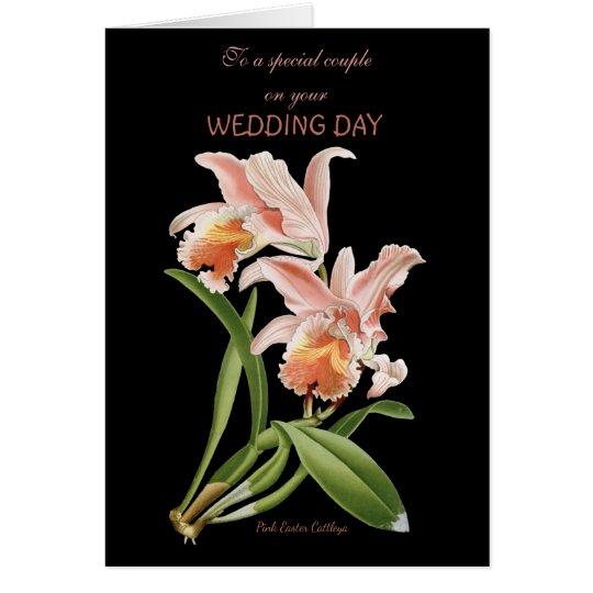 Tarjeta Para un par especial en su día de boda