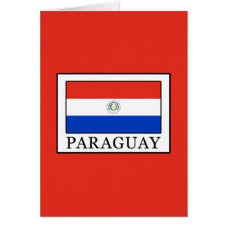 Tarjeta Paraguay