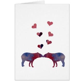 Tarjeta Pares del Tapir
