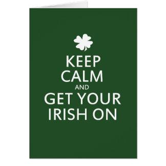Tarjeta Parodia del día del St Patricks