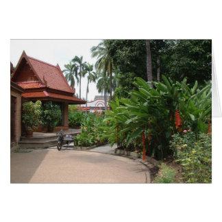 Tarjeta Parque de Bangkok