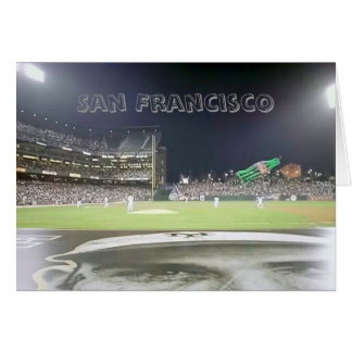 Tarjeta Parque del béisbol, San Francisco