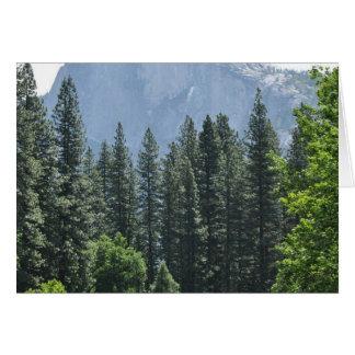 Tarjeta Parque nacional de Yosemite