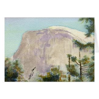 Tarjeta Parque nacional de Yosemite:  Media bóveda